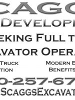 JOB OPPORTUNITY IN SOUTHERN MD EXCAVATING COMPANY
