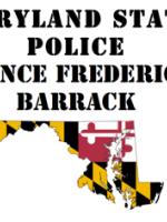 MD State Police in Prince Frederick