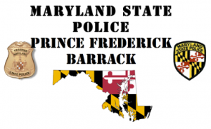 MD State Police in Prince Frederick
