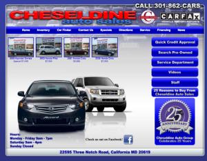 Cheseldine Auto Sales