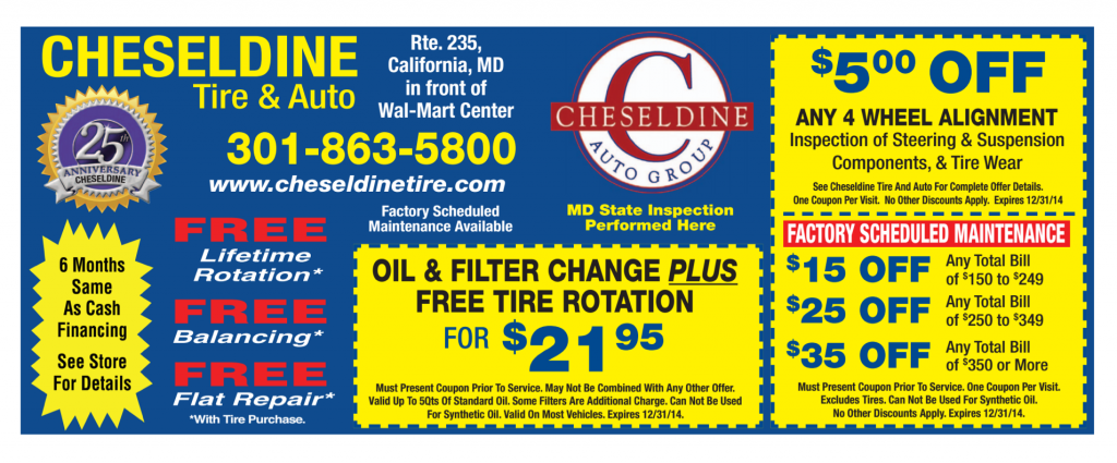 Auto repairs in Southern Maryland