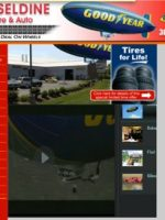 Cheseldine Tire website thumbnail