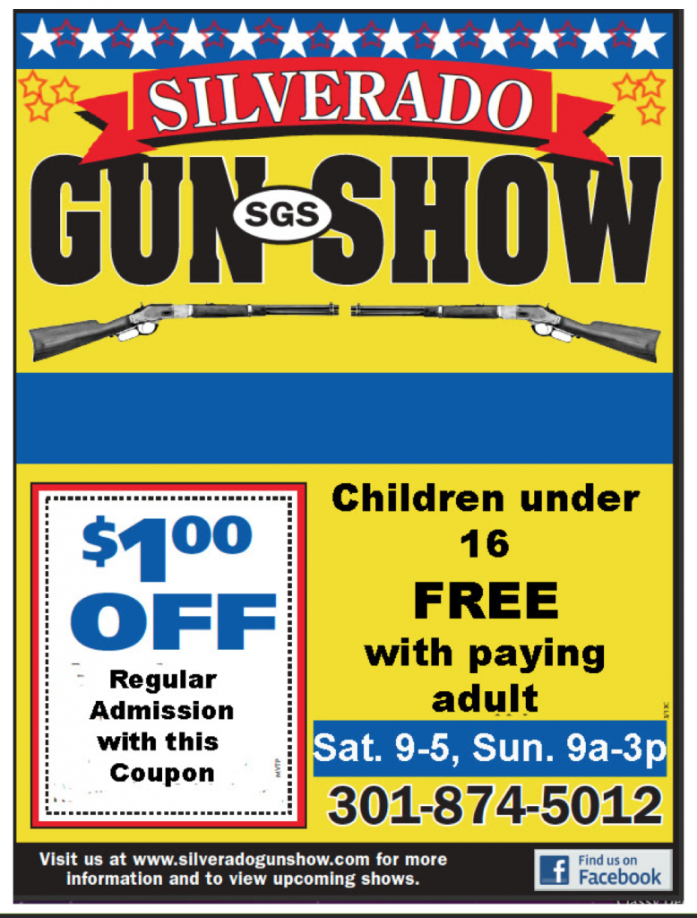 Silverado nov show specials welcome to southern maryland for Frederick county fairgrounds christmas craft show