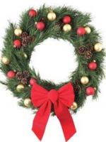 Make a Holiday Wreath this christmas season.