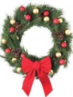 Make a Holiday Wreath this christmas season.
