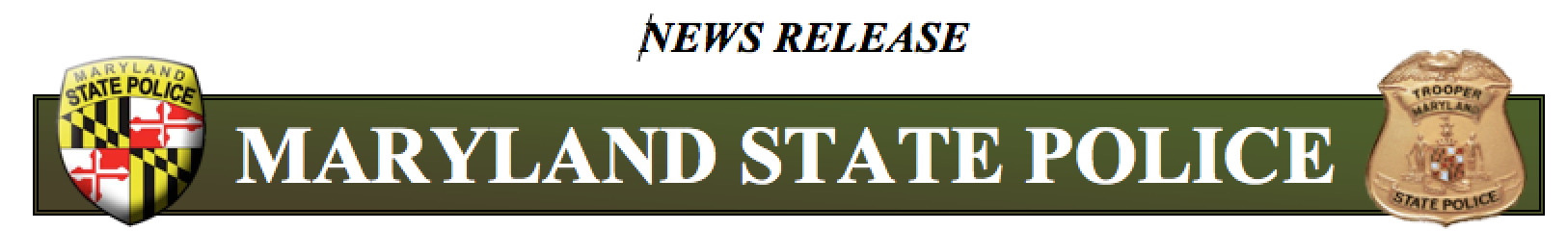 MD State Police Press Release