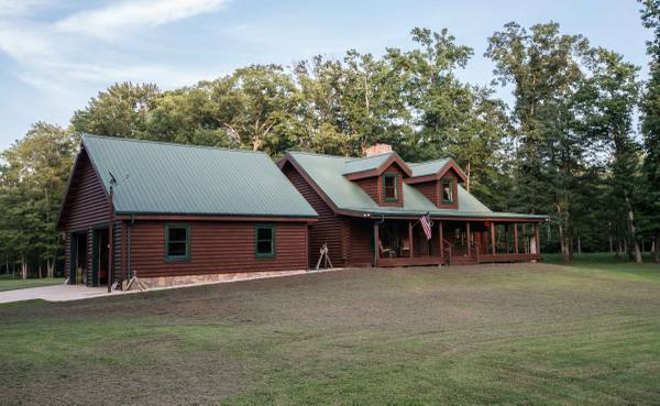 Custom Log Cabin for Sale - Welcome To Southern Maryland