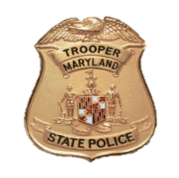 MD STATE POLICE BADGE